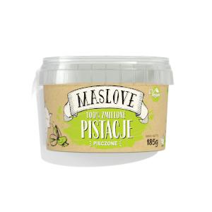 masło orzechowe maslove pistacje spieczone 100%