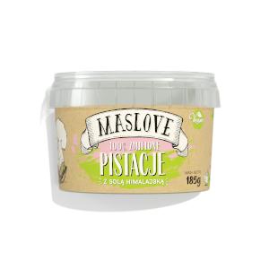 masło orzechowe maslove pistacje z solą himalajską 100%