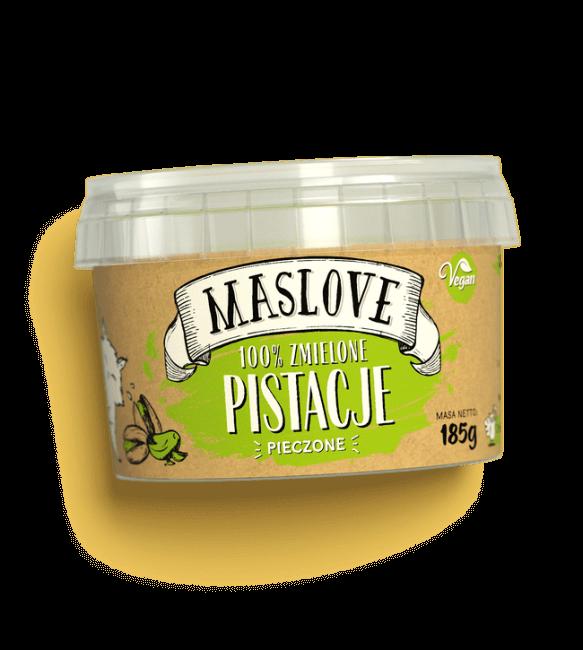 Masło Pistacjowe 100% Naturalne 185g