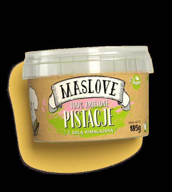 Masło Pistacjowe Solone 100% z Solą Himalajską