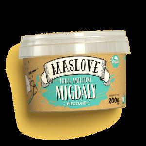 Masło migdałowe z migdałów pieczonych