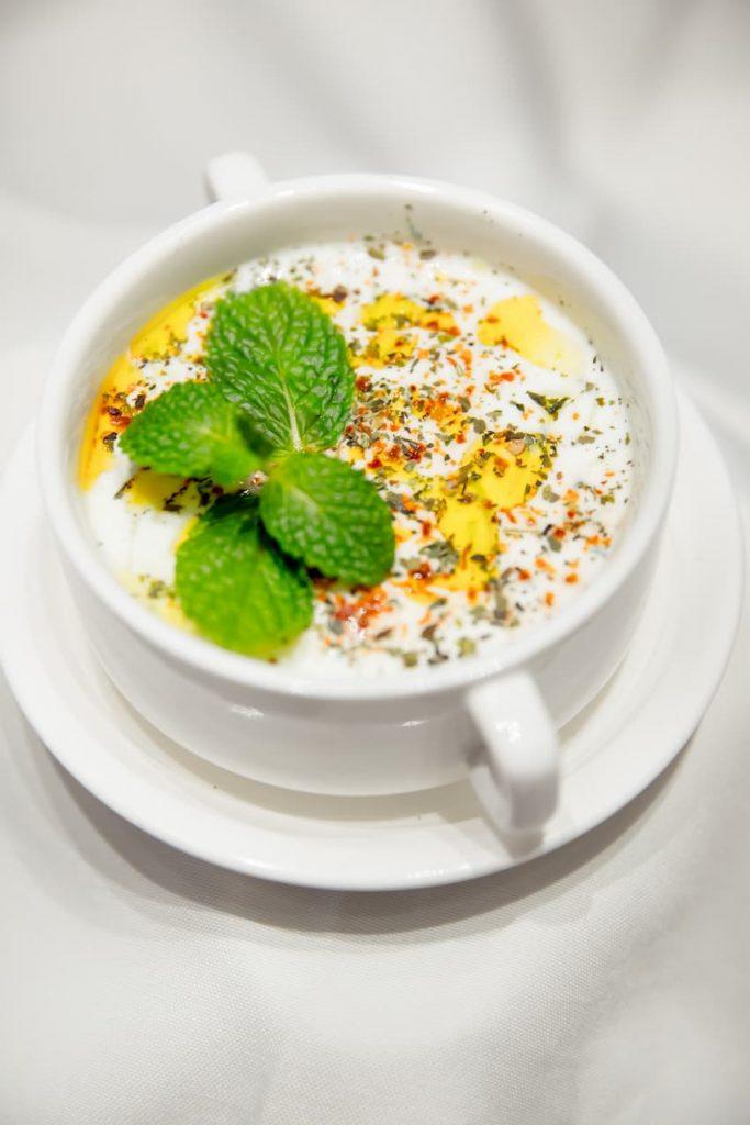 zupa migdałowa wigilijna z Kresów