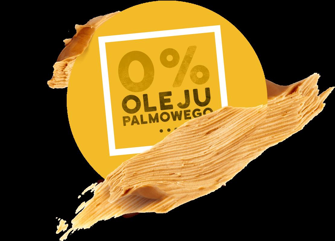 Masło orzechowe bez oleju palmowego
