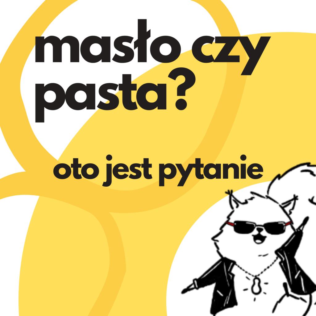 masło orzechowa a pasta orzechowa