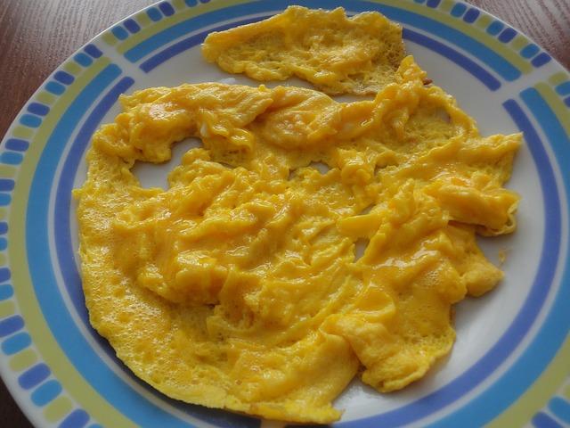 jajecznica z maslem orzechowym