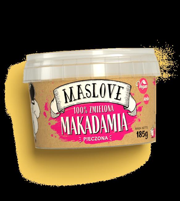 Masło z orzechów makadamia 185g