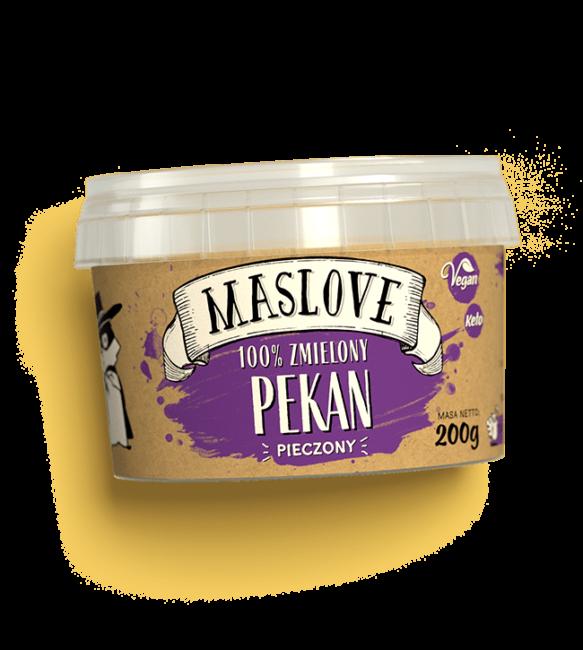 Masło z orzechów pekan 200g