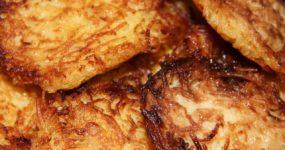 Placki ziemniaczane z masłem orzechowym