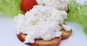 Twaróg z masłem orzechowym